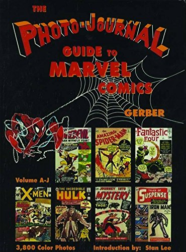 Photo-Journal Guide To Marvel Comics (A-J) Cover