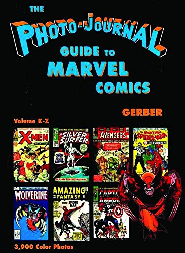Photo-Journal Guide To Marvel Comics (K-Z) Cover