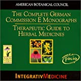 Therapeutic Guide to Herbal Medicines CD-ROM