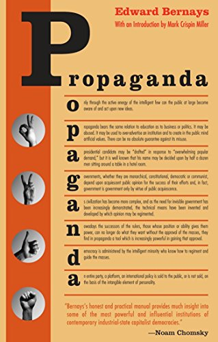 Propaganda, by Bernays, E.