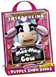 Miss Moo-Moo The Cow Puppet Show Book Gift Set - Tote (Puppet Show Books)