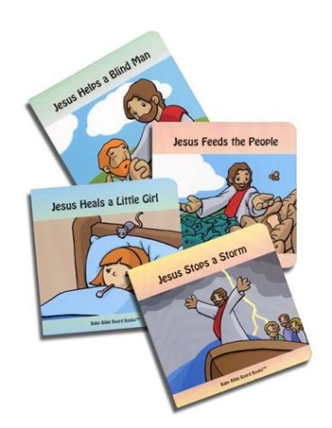 Stories of Jesus (Baby Bible Board Books Collection #1)
