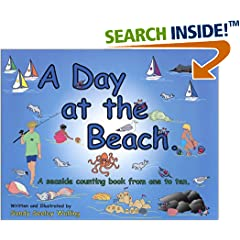 A Day at the Beach: A Seaside Counting Book from One to Ten