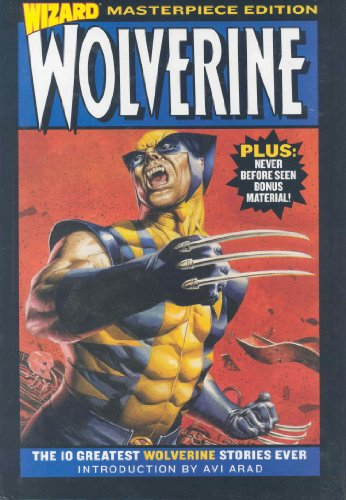 Wizard Wolverine Masterpiece Edition Cover