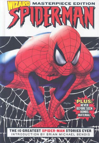 Wizard Spider-Man Masterpiece Edition Cover