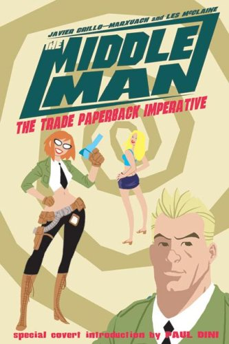 The Middleman: The Trade Paperback Imperative cover