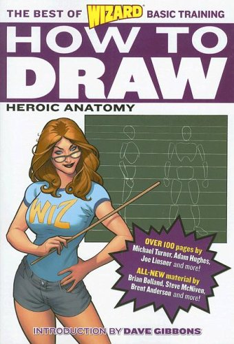 Wizard How to Draw: Heroic Anatomy cover