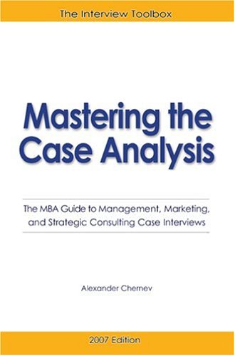 case analysis whither an mba at