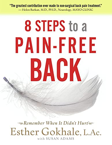 8 Steps to a Pain-Free Back Book Cover Picture