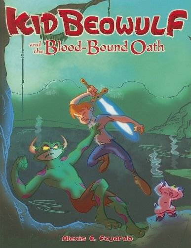 Kid Beowulf and the Blood-Bound Oath cover