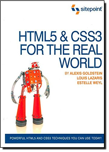 Pdf Html5 Css3 For The Real World Free Ebooks Download Ebookee