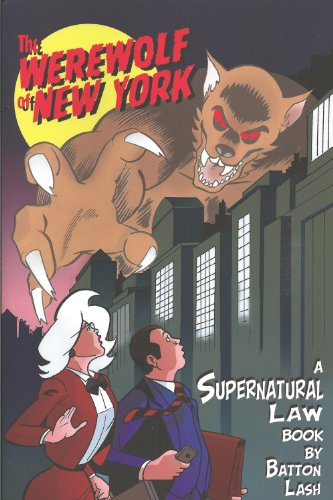The Werewolf of New York: A Supernatural Law Book cover