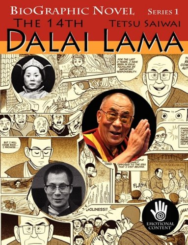 BioGraphic Novel: The 14th Dalai Lama cover