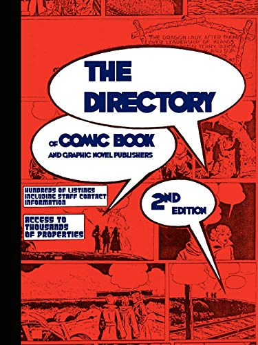 The Directory of Comic Book and Graphic Novel Publishers cover