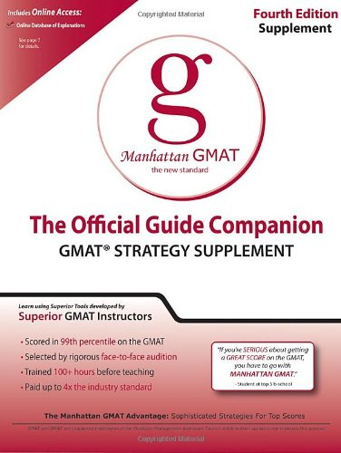 Official Guide Companion (Manhattan Gmat Prep)