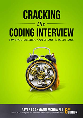 541. Cracking the Coding Interview: 189 Programming Questions and Solutions