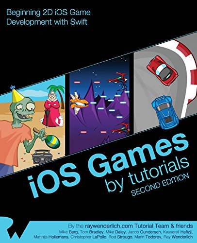 iOS Games by Tutorials: Second Edition: Beginning 2D iOS Game Development with Swift - Ray Wenderlich, Mike Berg, Tom Bradley, Mike Daley, Jacob Gundersen, Kauserali Hafizji, Matthijs Hollemans, Christopher LaPollo, Rod Strougo, Marin Todorov