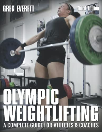 Olympic Weightlifting Book Cover Picture