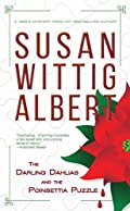 The Darling Dahlias and the Poinsettia Puzzle by Susan Wittig Albert