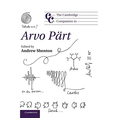 Cambridge Companion to Arvo Part Shenton University Press Hardback 9781107009899