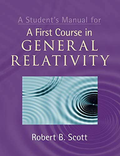 Pdf A Students Manual For A First Course In General Relativity