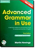 Advanced Grammar in Use Book with Answers and CD-ROM: A Self-Study Reference and Practice Book for Advanced Learners of English by Martin Hewings