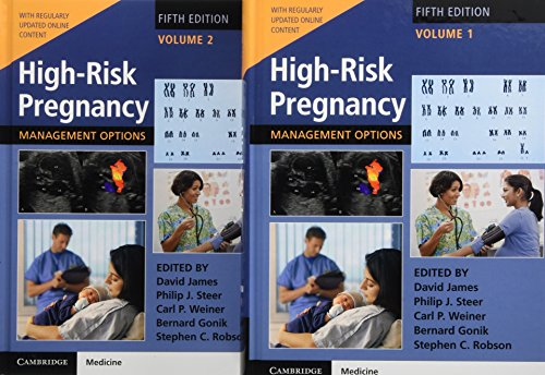 HIGH RISK PREGNANCY MANGEMENT OPTIONS 5ED 2VOL