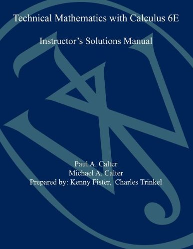 Pdf technical mathematics with calculus sixth edition ism free pdf technical mathematics with calculus sixth edition ism free ebooks download ebookee fandeluxe Gallery