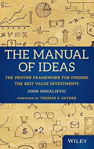 The Manual of Ideas Book Cover Picture