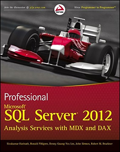 Professional Microsoft SQL Server 2012 Analysis Services with MDX