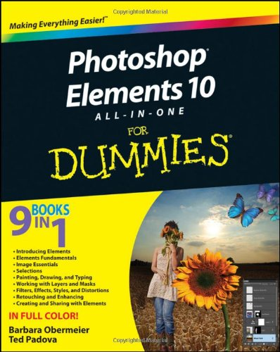 Pdf Photoshop Elements 10 All In One For Dummies Free Ebooks