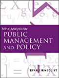 Meta-Analysis for Public Management and Policy [electronic resource].