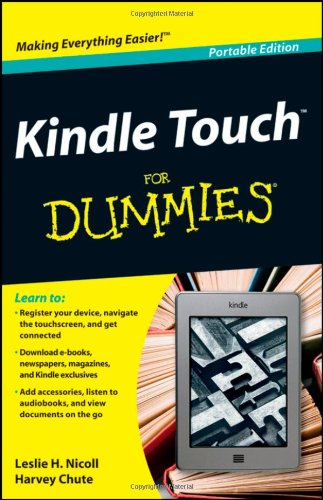 PDF Kindle Touch For Dummies Portable Edition