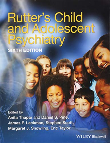 RUTTER'S CHILD AND ADOLESCENT PSYCHIATRY 6ED, PB