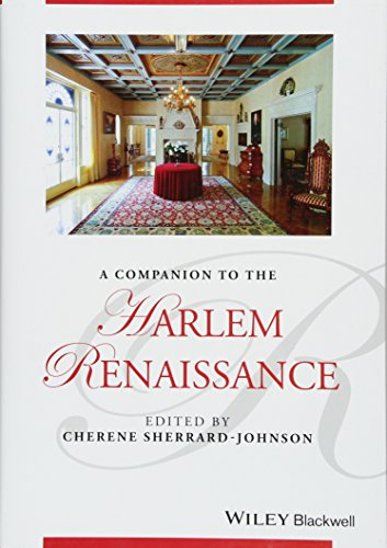 PDF A Companion to the Harlem Renaissance Blackwell Companions to Literature and Culture
