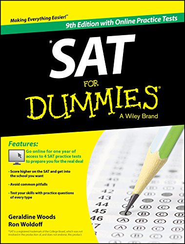 PDF SAT For Dummies with Online Practice