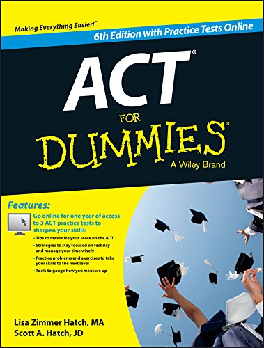 PDF ACT For Dummies with Online Practice Tests