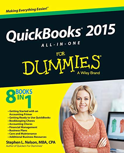 QuickBooks 2015 All-in-One For Dummies (For Dummies Series) - Stephen L. Nelson