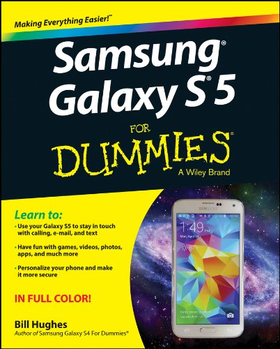Samsung Galaxy S5 For Dummies - Bill Hughes