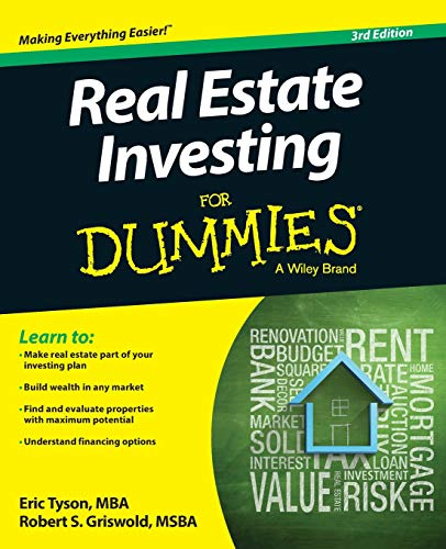 Real Estate Investing For Dummies - Eric Tyson, Robert S. Griswold