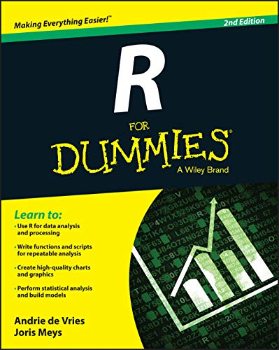 R For Dummies - Andrie de Vries, Joris Meys