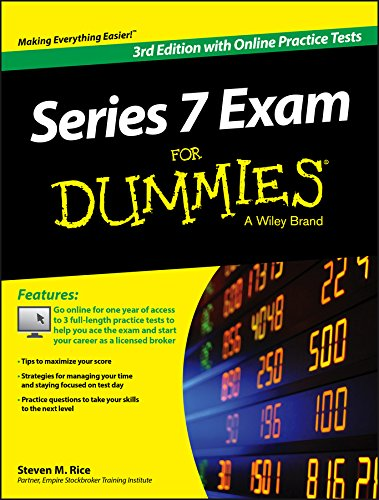 PDF Series 7 Exam For Dummies with Online Practice Tests