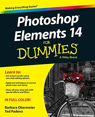 Photoshop Elements 14 For Dummies - Barbara Obermeier, Ted Padova