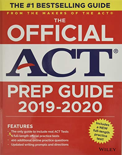 Read Now The Official ACT Prep Guide 2019-2020, (Book + 5 Practice Tests + Bonus Online Content)
