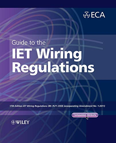 Pdf  Guide To The Iet Wiring Regulations  Iet Wiring