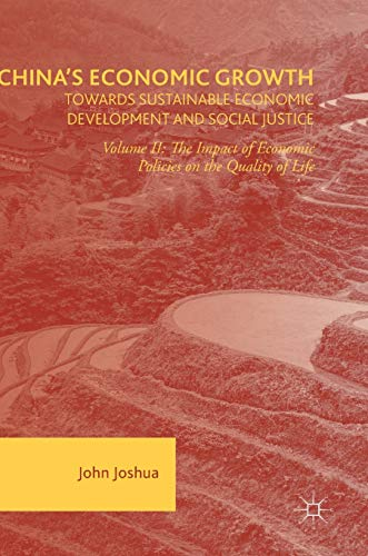 PDF China s Economic Growth Towards Sustainable Economic Development and Social Justice Volume II The Impact of Economic Policies on the Quality of Life
