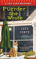 Purrder She Wrote by Cate Conte