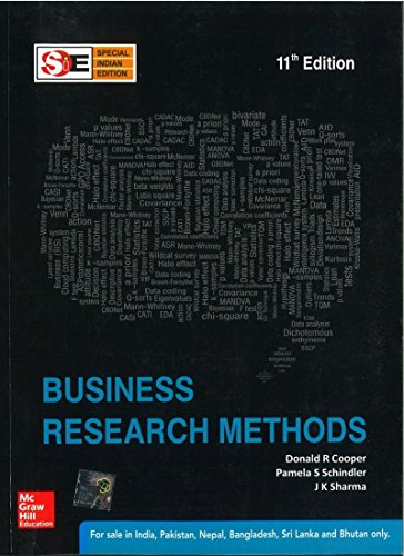 BUSINESS RESEARCH METHODS 11ED