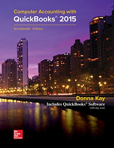 MP Computer Accounting with QuickBooks 2015 with Student Resource CD-ROM - Donna Kay