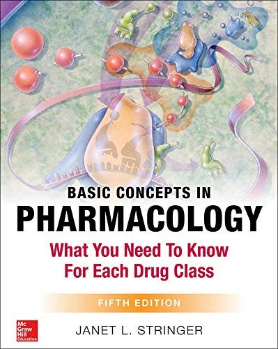 Links to selected pharmacy ebooks resource guide for pharmacy basic concepts in pharmacology what you need to know for each drug class fifth edition by janet stringer fandeluxe Choice Image